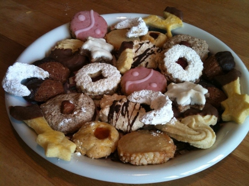 Recipes For Delicious German Christmas Cookies On German Christmas - Best Christmas Moment